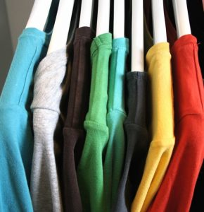 All have a t-shirt in the closet